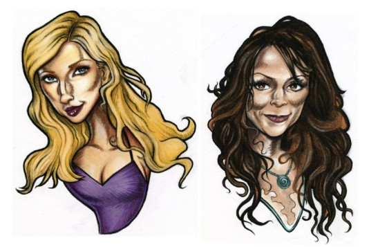 Caricatures & Characters